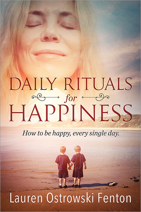 My book Daily Rituals for happiness is available for pre order on Amazon