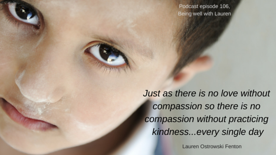 Episode 106 Compassion – Does action speak louder thanwords?